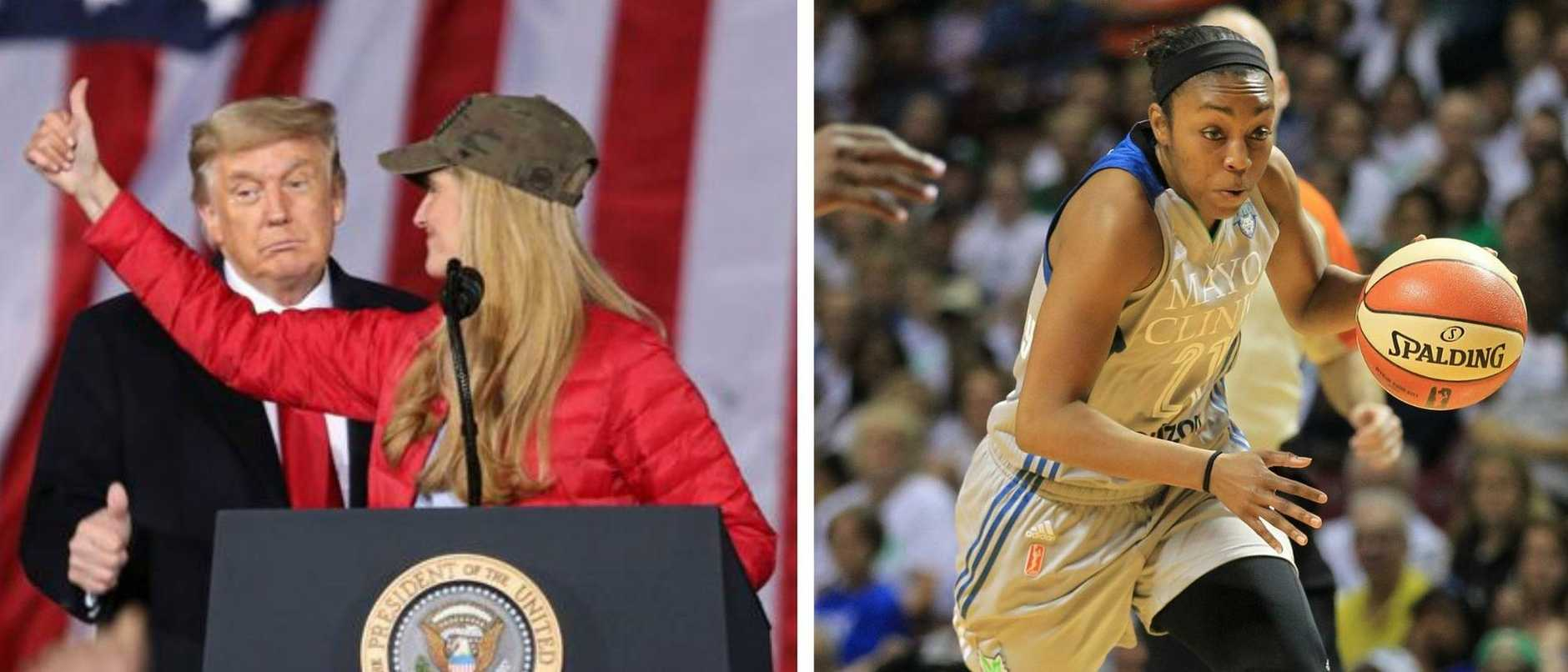 An ironic twist has seen a controversial team owner and Republican senator ousted in a historic moment for the WNBA.