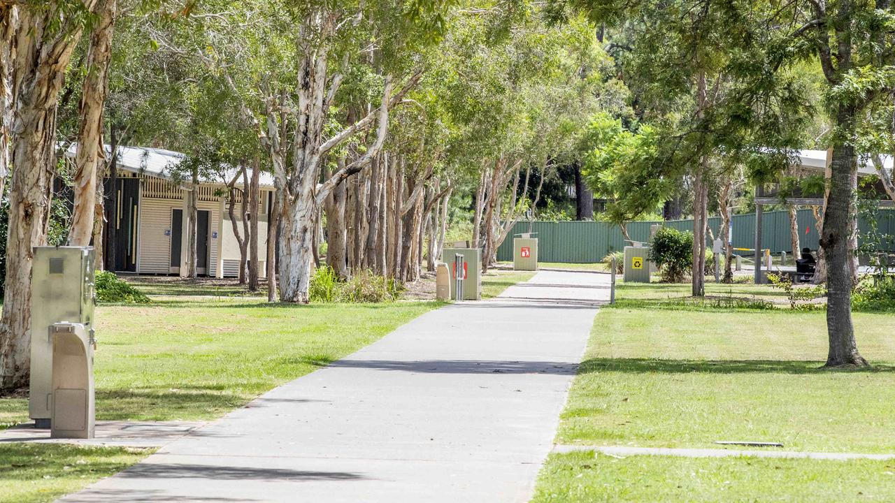 One of 11 men charged with the alleged drugging and gang rape of two 15-year-old girls at a park has been refused bail over deportation concerns.