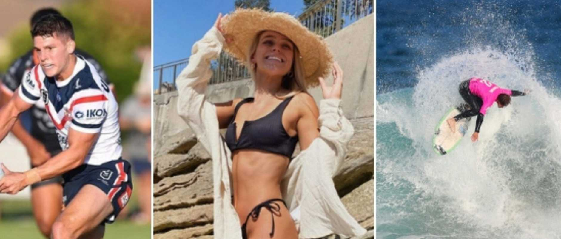 A Bra Boy has avoided jail time after assaulting an insta-famous assistant police commissioner's daughter and her international rugby league playing boyfriend.
