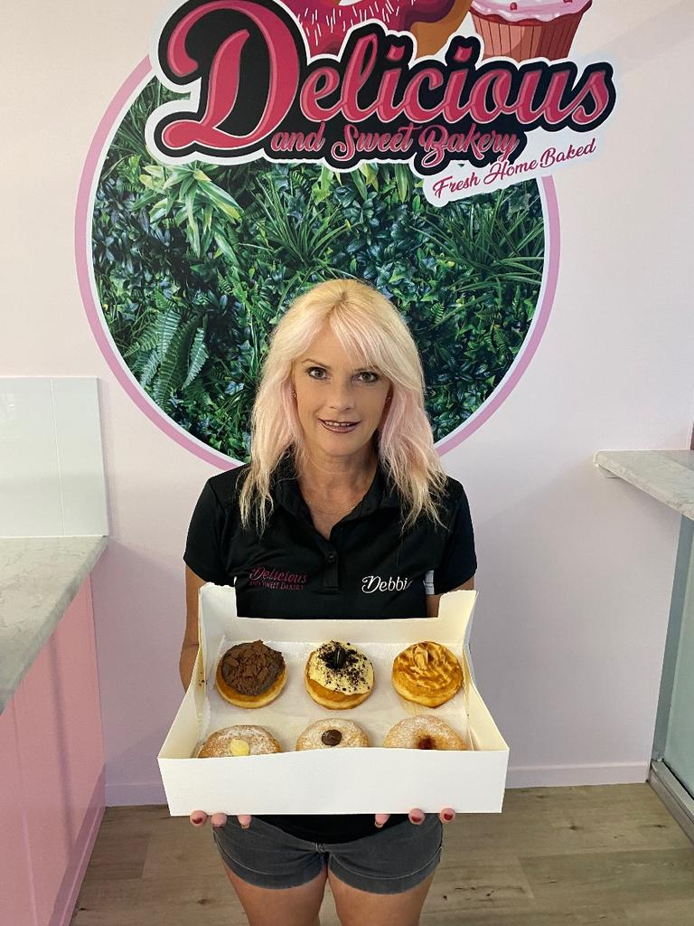 The creative genius behind Delicious and Sweet Bakery store, Debbie Meates. Picture: Contributed