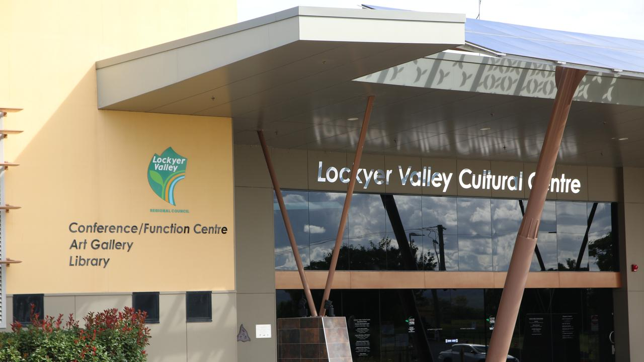 Lockyer Valley Cultural Centre, home to the Staging Post Cafe, Queensland Transport Museum, Gatton Library and Lockyer Valley Art Gallery. Picture: Dominic Elsome