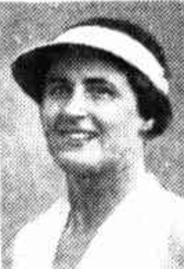 Margaret Molesworth paved the way for Australian females in tennis. Photo: Public domain