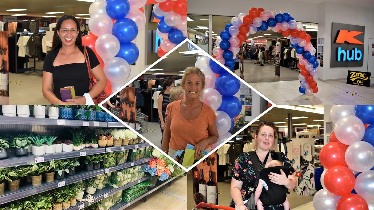 Gympie K Hub open for business as shoppers flock to Goldfield's Plaza.