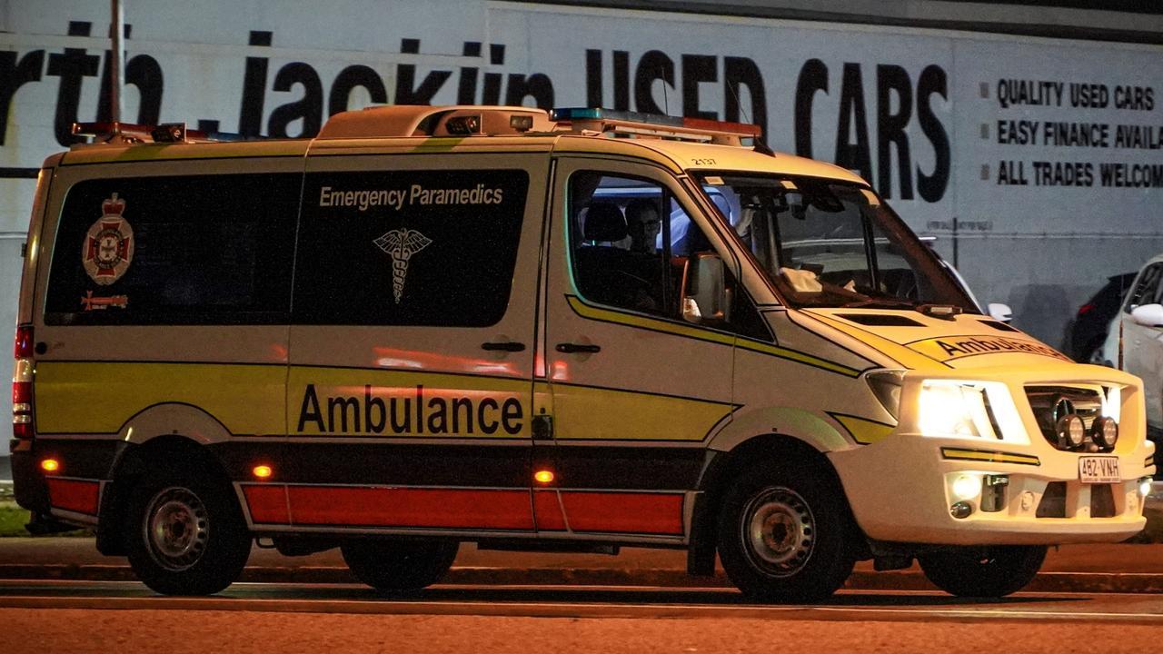 Paramedics were called to a single-vehicle crash. Picture: Heidi Petith
