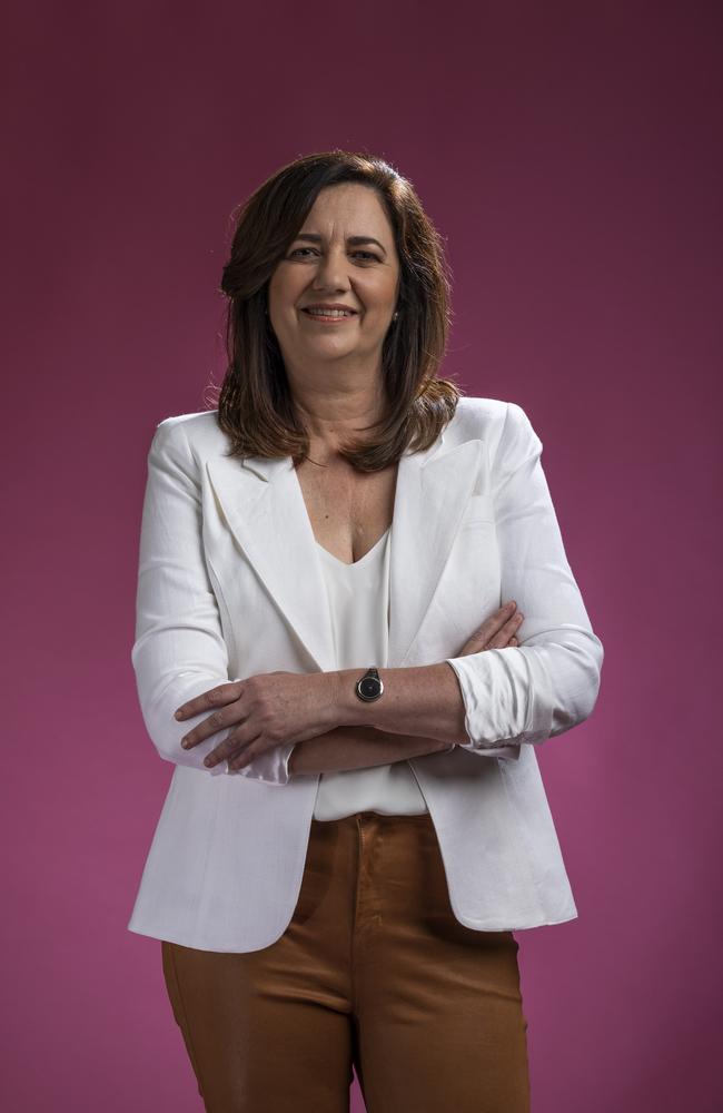 Premier Annastacia Palaszczcuk. Picture: Mark Cranitch