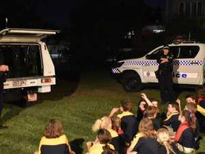 SCOUTS: Police, fire crews visit Mount Archer Scout Group