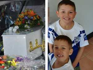 Town brought to standstill as boys farewelled