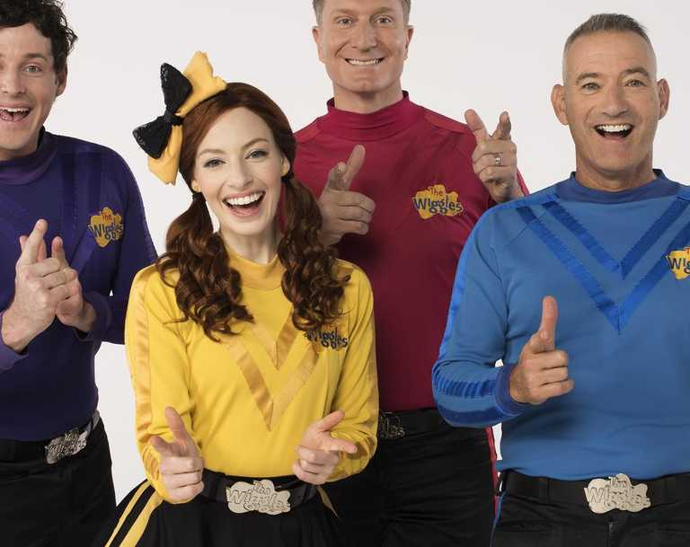 The Wiggles will make their Like A Version debut on Triple J this morning. Picture: Supplied.