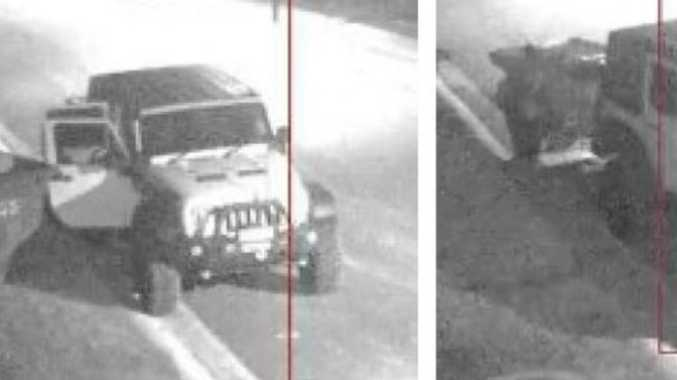 Police search for Jeep in job site theft investigation