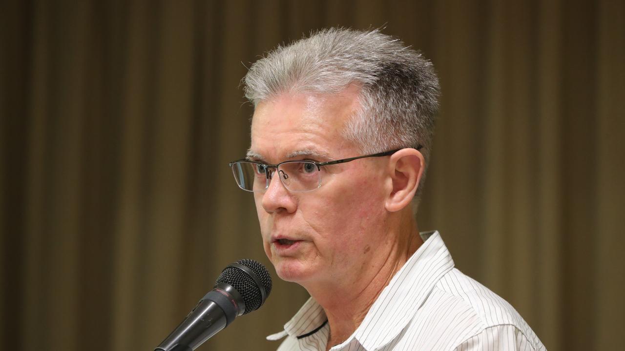 Community Alliance head John Hicks. Picture Glenn Hampson