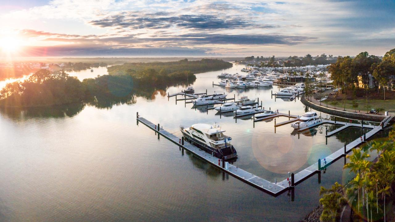"The local superyacht industry boomed through COVID, with Sanctuary Cove seeing increased demand for superyacht berthing. ""It's a reflection of more affluent customers investing in experiences here in Australia,"" said Sanctuary Cove marina general manager Steve Sammes."