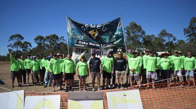 CFMMEU officials face court over alleged abuse at CQ mine