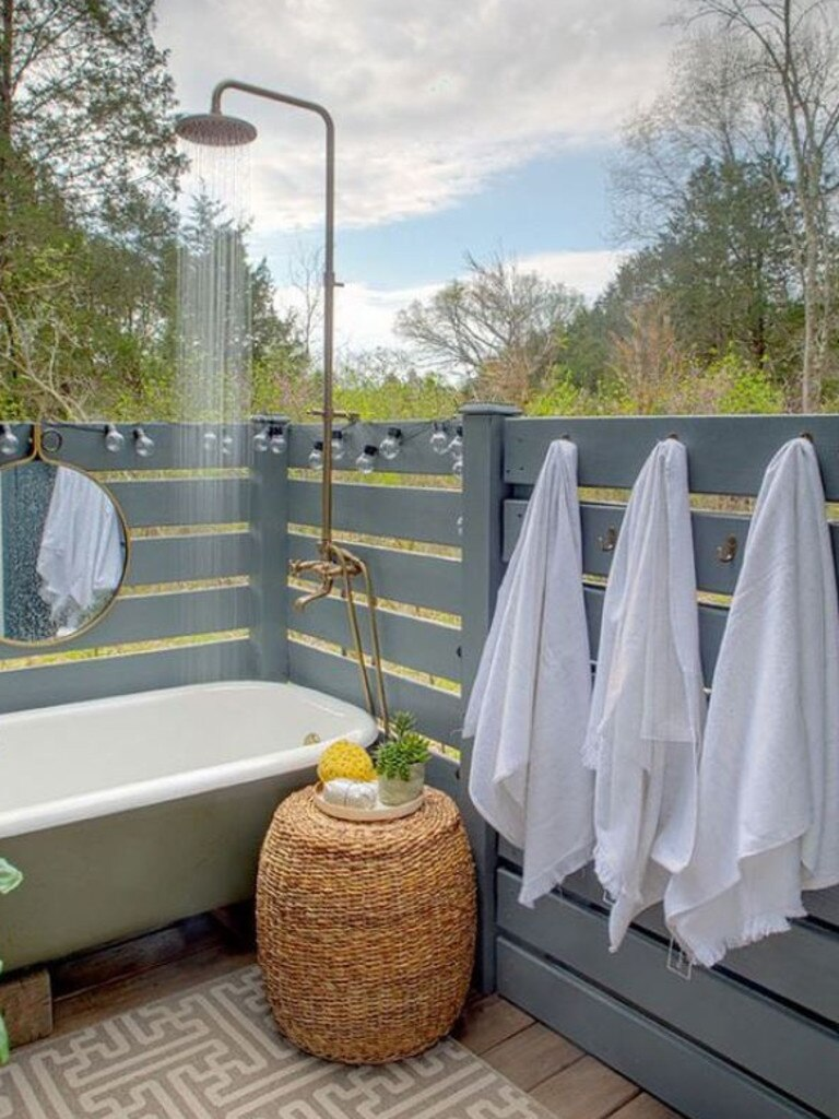 An example of an outdoor bathing area.