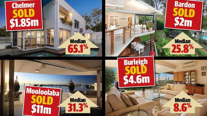 Property boom: The suburbs reaching staggering prices