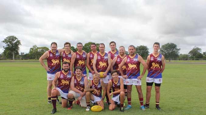 Lions roar into first AFL practice match against Blues