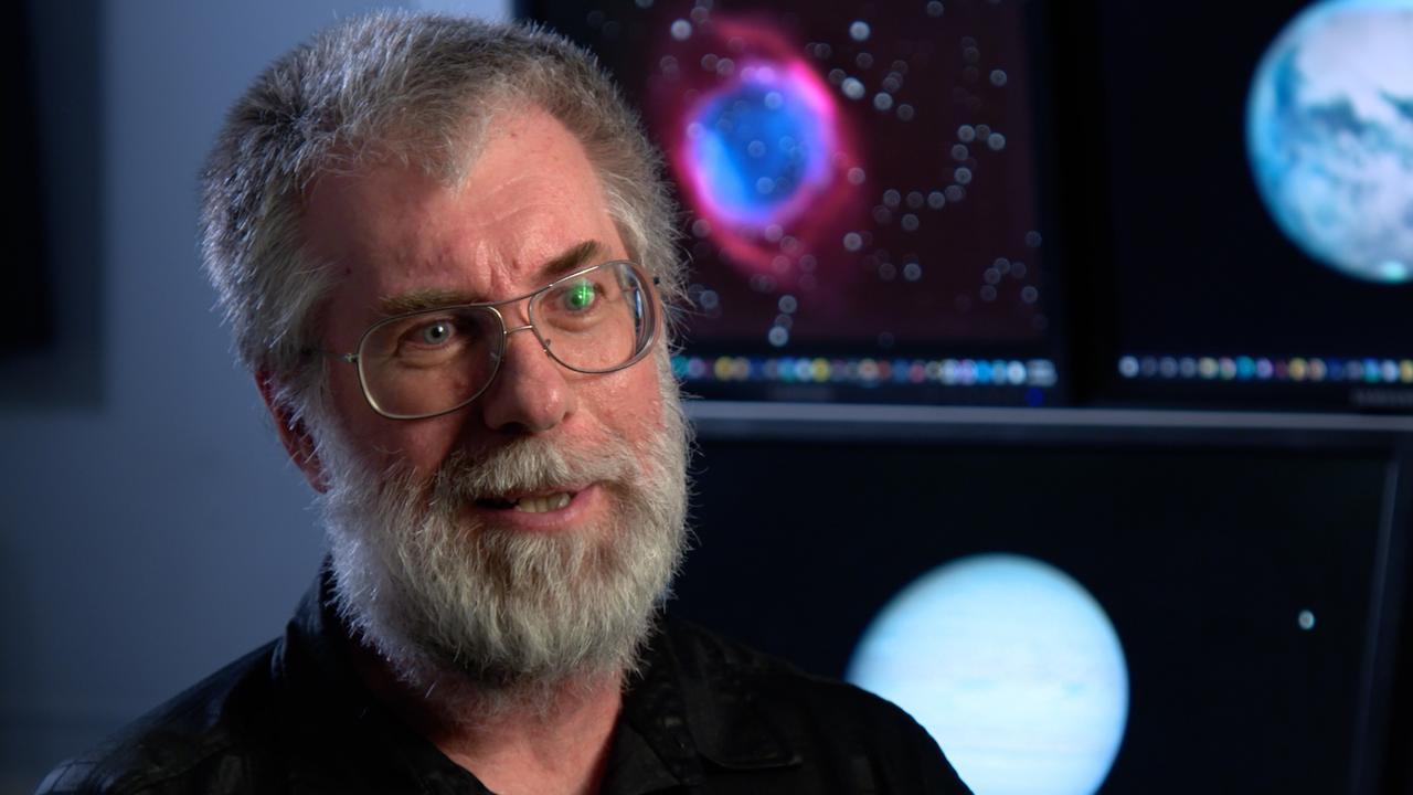 Amateur astronomer Anthony Wesley.