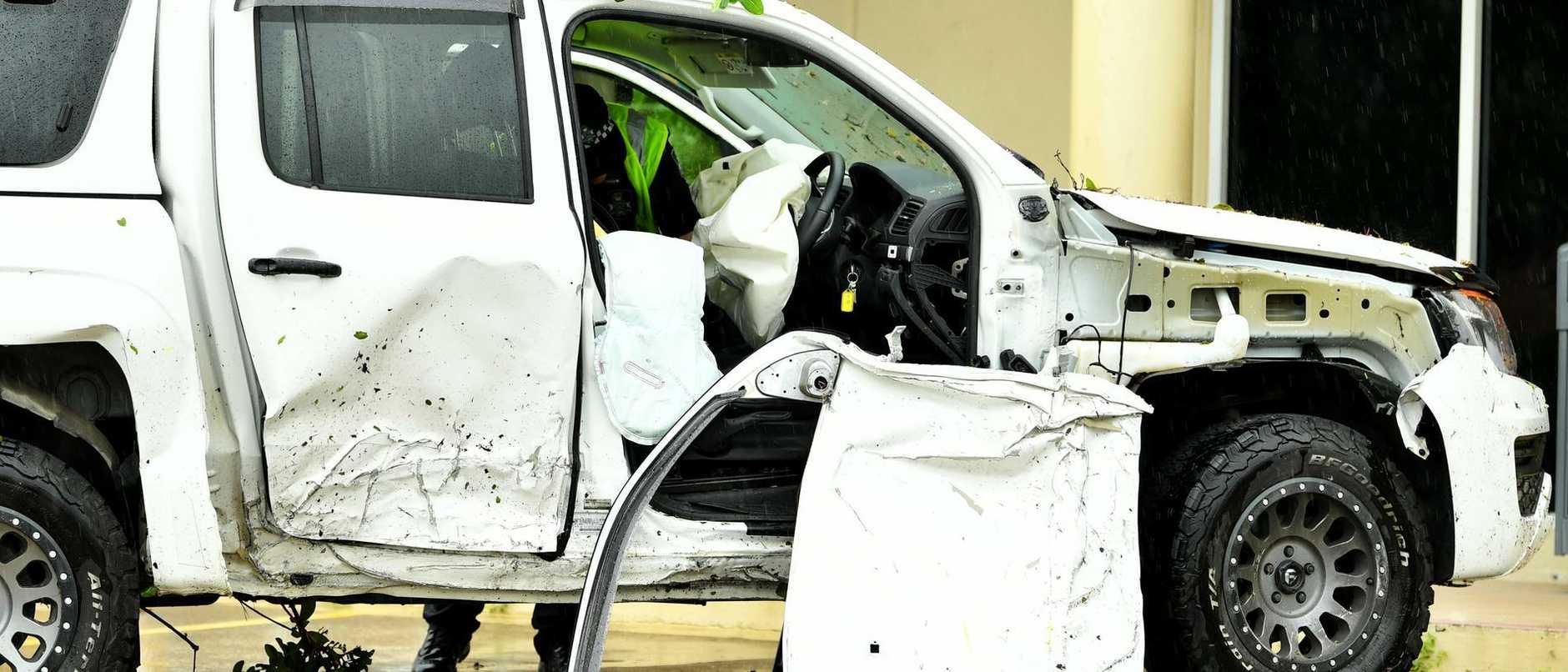 Stolen Car Crash