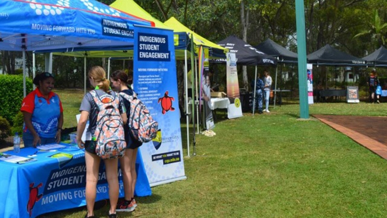 CQUniversity's Bundaberg campus welcomed new students this week in the first on campus Orientation Week since the start of the pandemic.