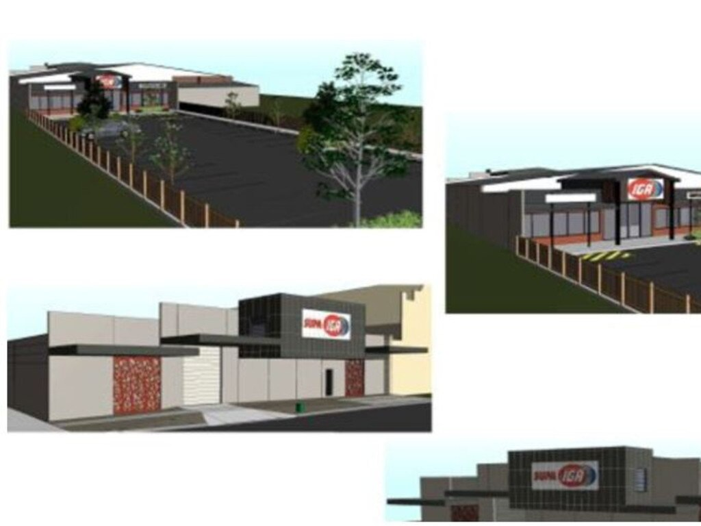 CONCEPT DESIGN: This is what the new Supa IGA coming to Roma is set to look like.
