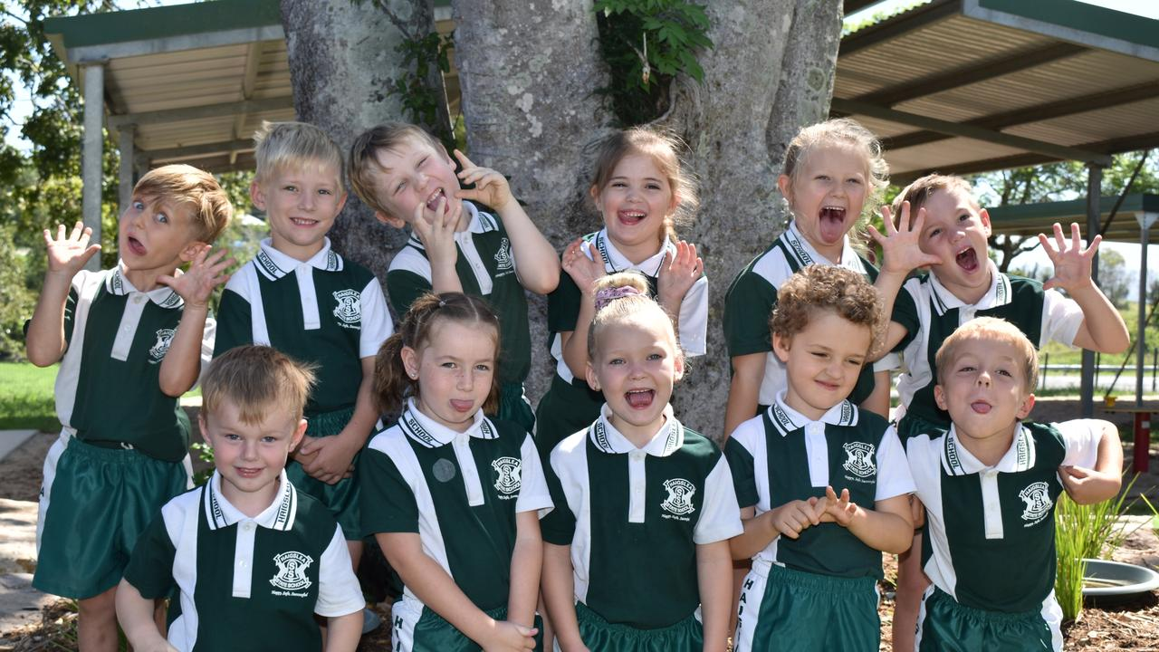 Haigslea State School Prep Class of 2021. Photo: Hugh Suffell.