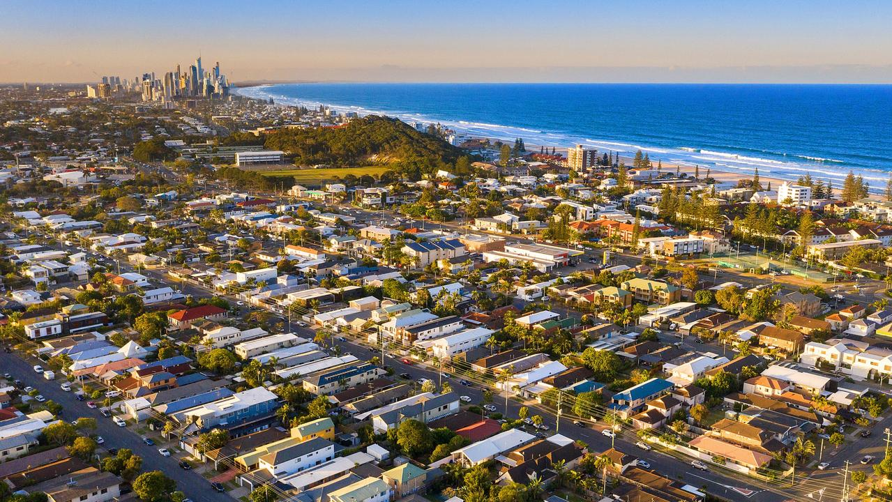 The Gold Coast is becoming popular among people from Sydney and Melbourne looking for a sea change. Picture: Supplied