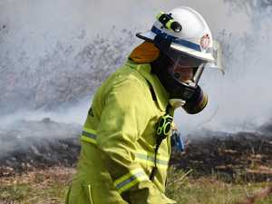 Fire crews carry out hazard reduction burn at The Caves