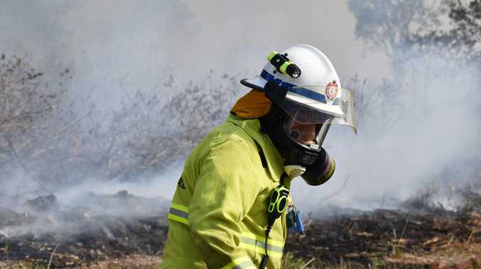 Bushfire breaks out near Biloela