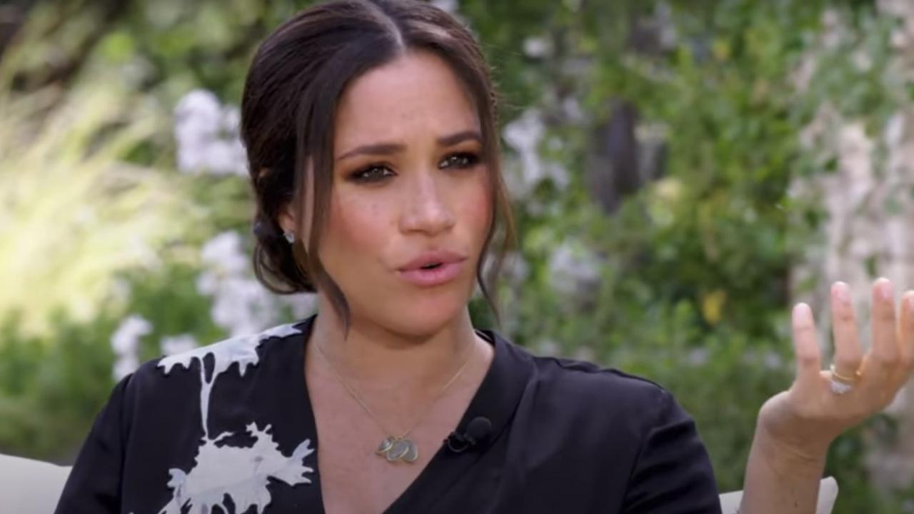 "Meghan tells Oprah she feels ""liberated"". Picture: CBS"