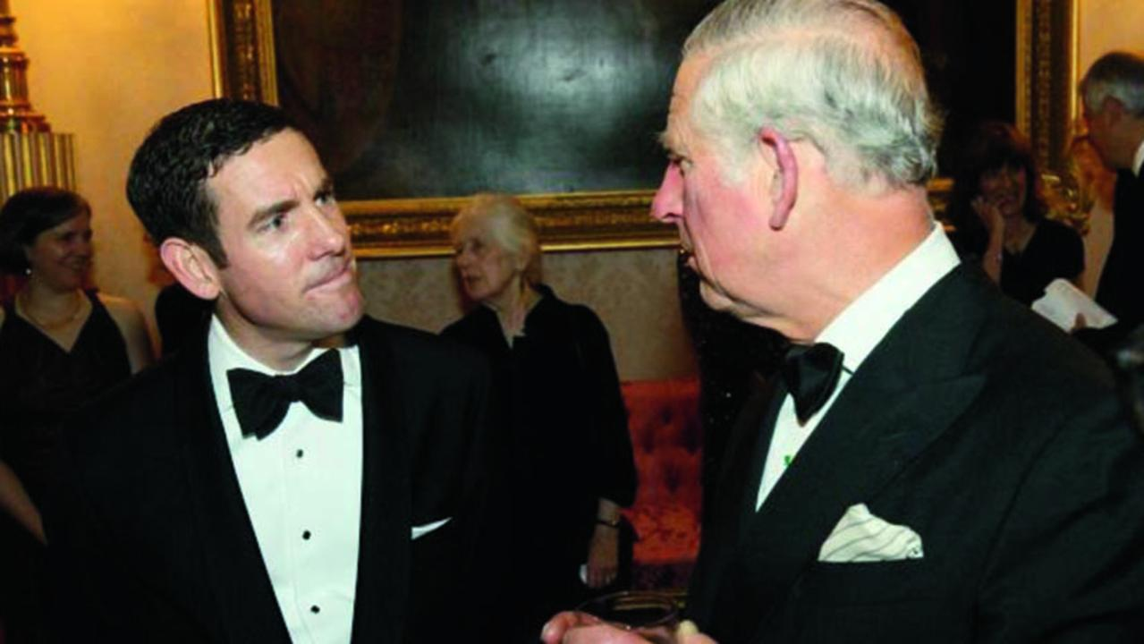 Lex Greensill with Prince Charles