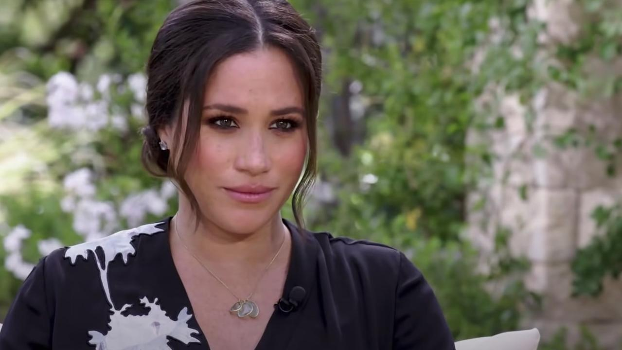 The interview comes after the Duchess of Sussex accused Buckingham Palace of spreading lies about her. Picture: CBS