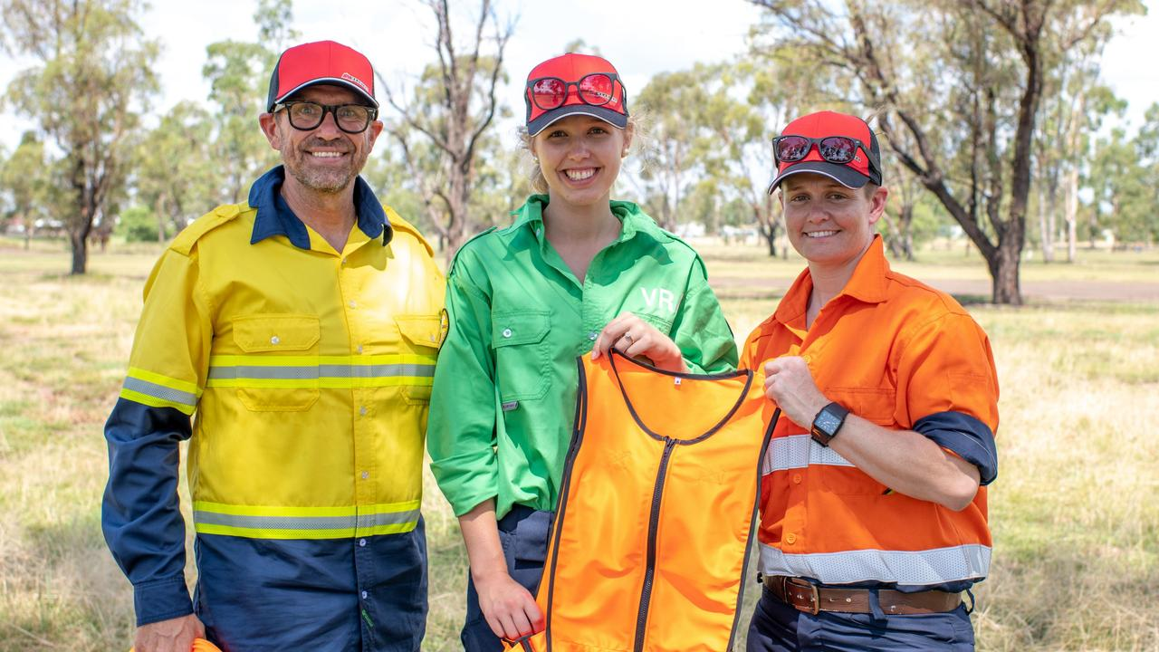 OLYMPIC INNOVATION: A Queensland company is offering a new way to chill out for workers across the world, which was originally designed for an international Olympic team. Pictured: Peter McGuinness, Isabel Pearce, Sarah Pearce. Photo: Contributed