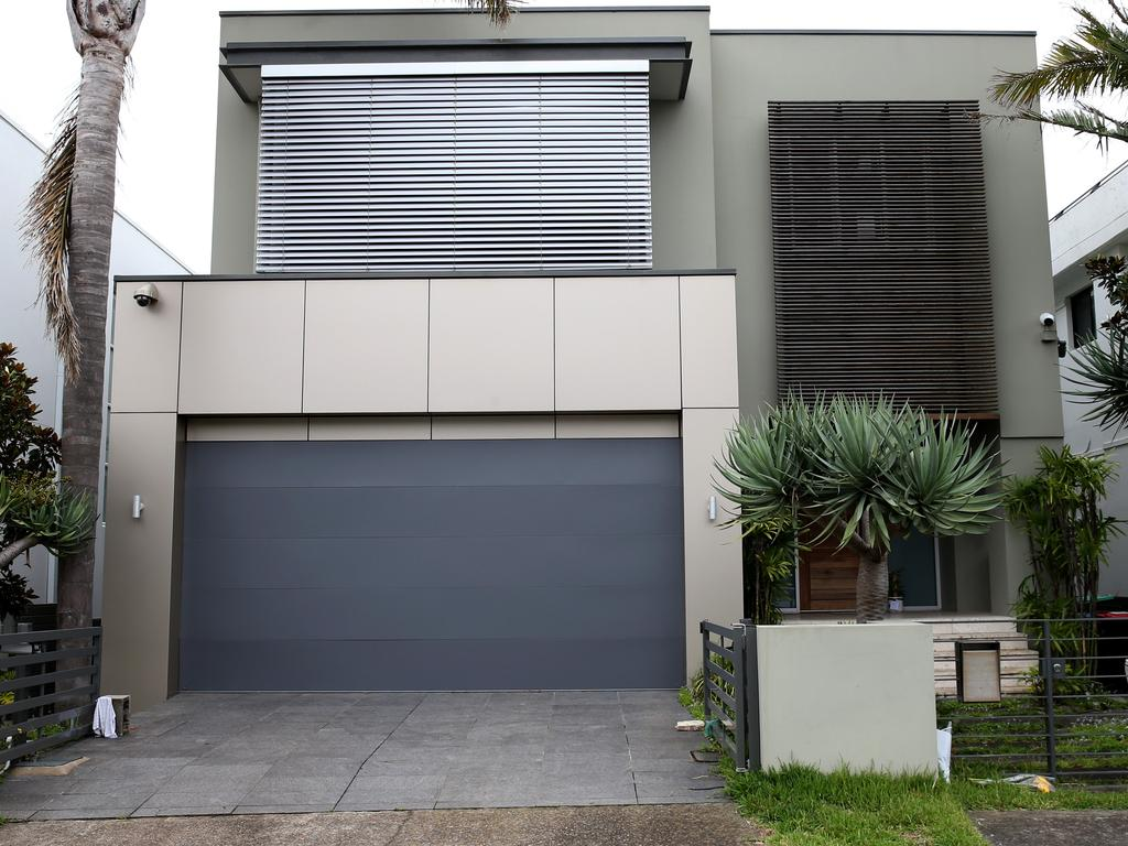 Melissa Caddick's $6.2m house in Dover Heights, pictured three months after she vanished and her remains were found.