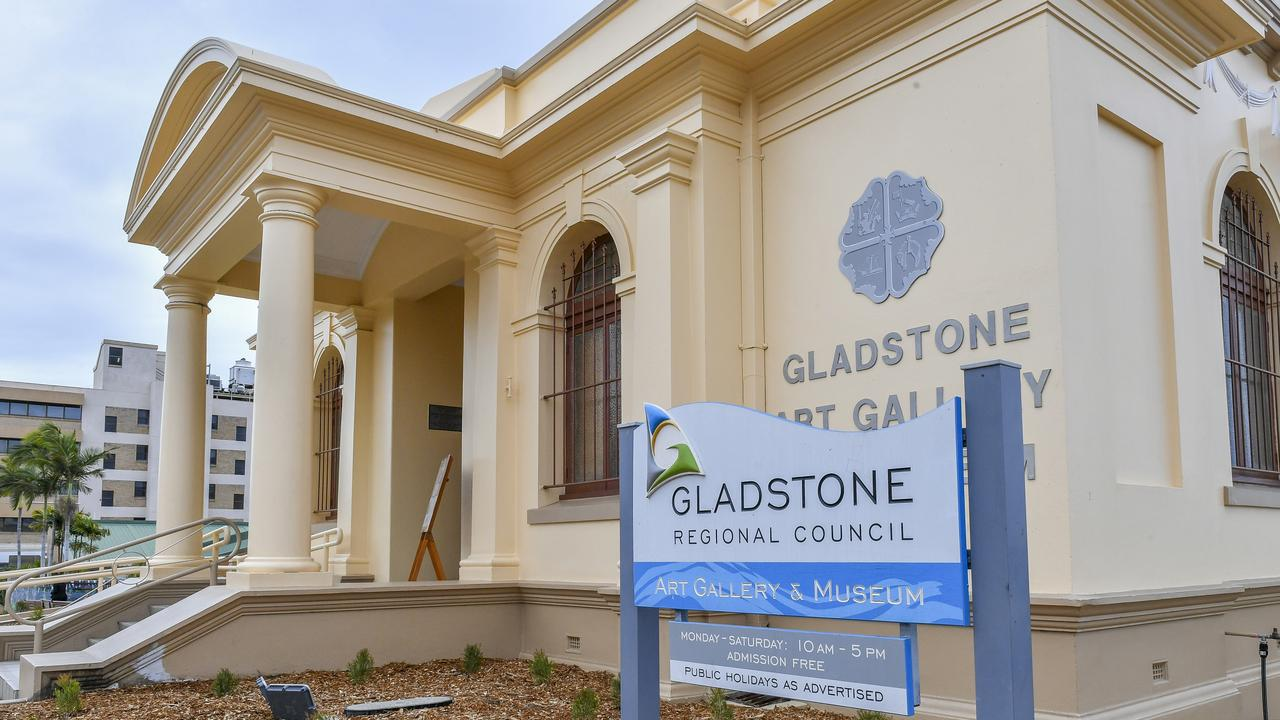 The Gladstone Regional Art Gallery and Museum in August 2019.