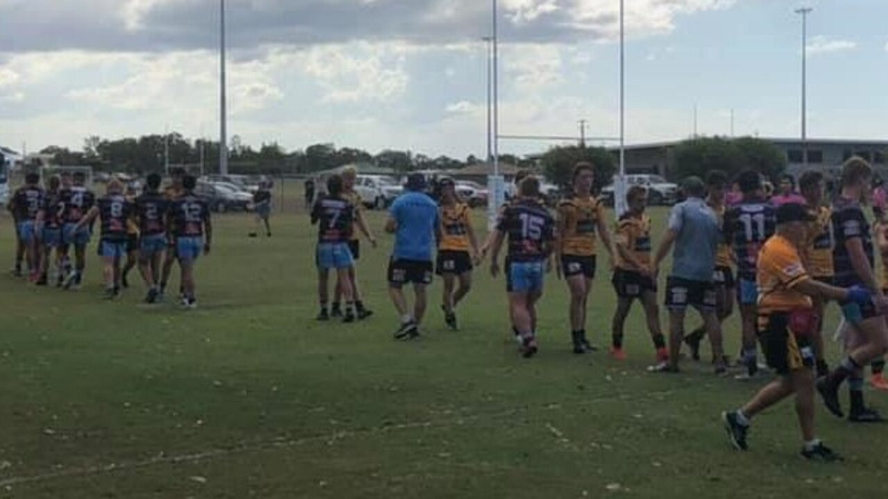 The Capras under-18s scored 10 tries to two in their season opener at Bundaberg on Saturday. Photo: CQ Capras Facebook page.
