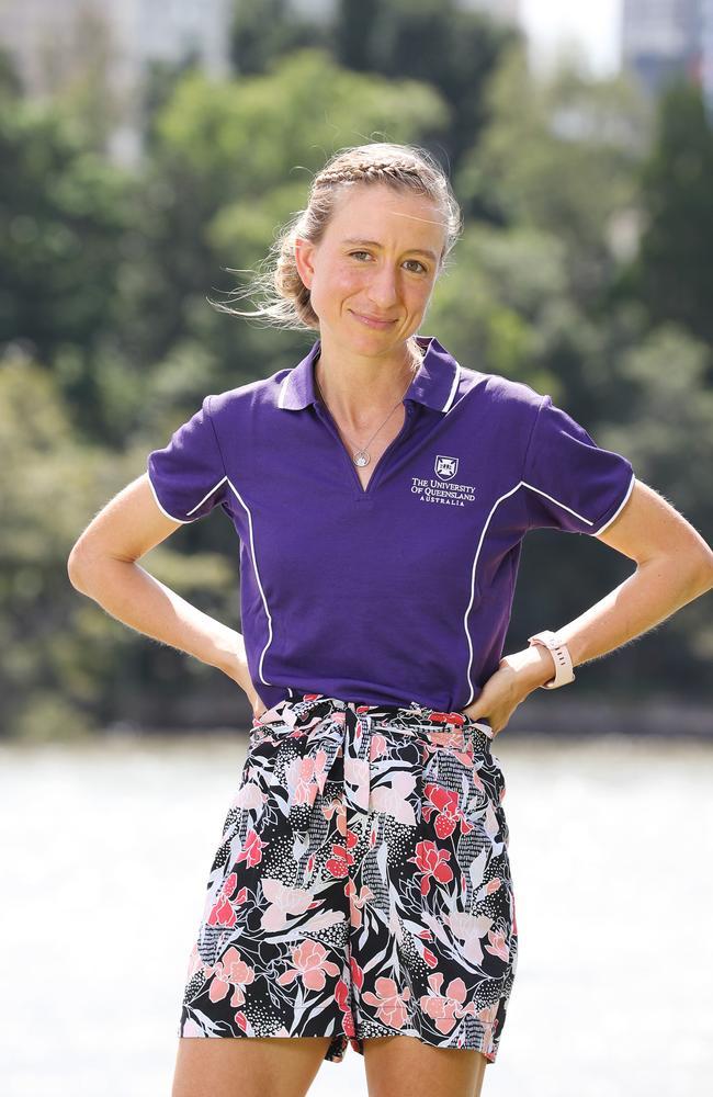 UQ virologist Dr Kirsty Short. Picture: Tara Croser