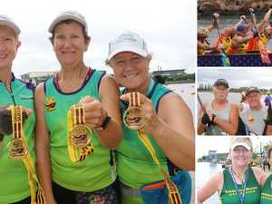PHOTO GALLERY: Paddlers power towards state glory