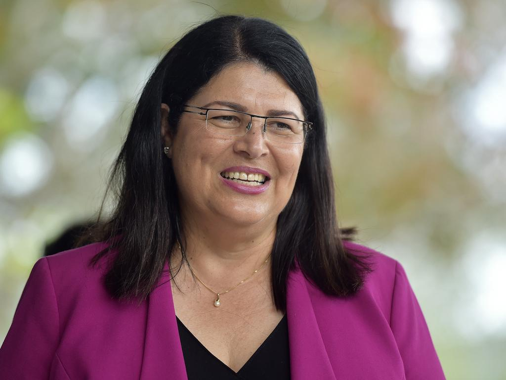 Premier Annastacia Palaszczuk says speak with Education Minister Grace Grace (pictured) about the processes for sexual allegations to be reported at schools. Picture Matt Taylor