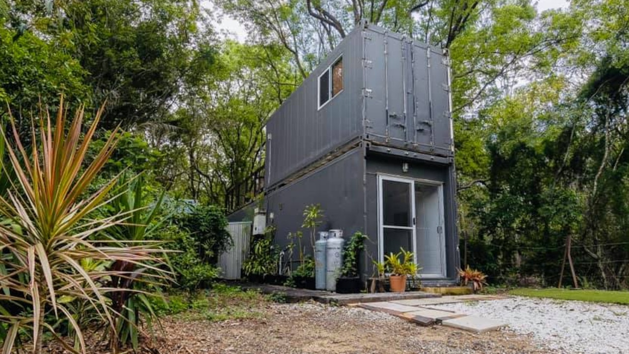 This container home was snapped up fast on Facebook marketplace.