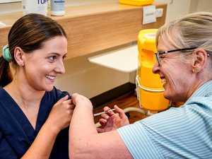 'Sorry': Hunt slams GP's vaccine suggestion