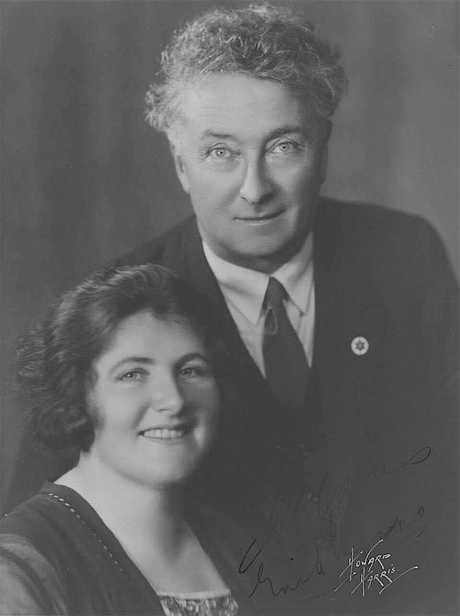 Enid continued her political career after the passing of her husband. Photo: Public Domain