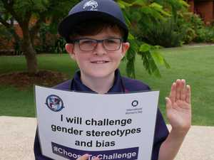PHOTOS: Caloundra students take women's day pledge