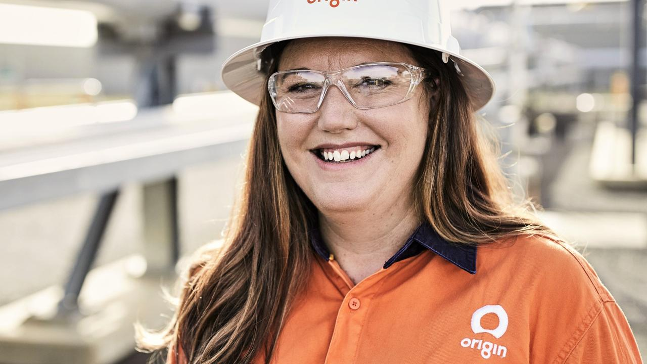 INSPIRATIONAL WOMEN: Origin Energy worker Jess Weller. Pic: Tim Jones