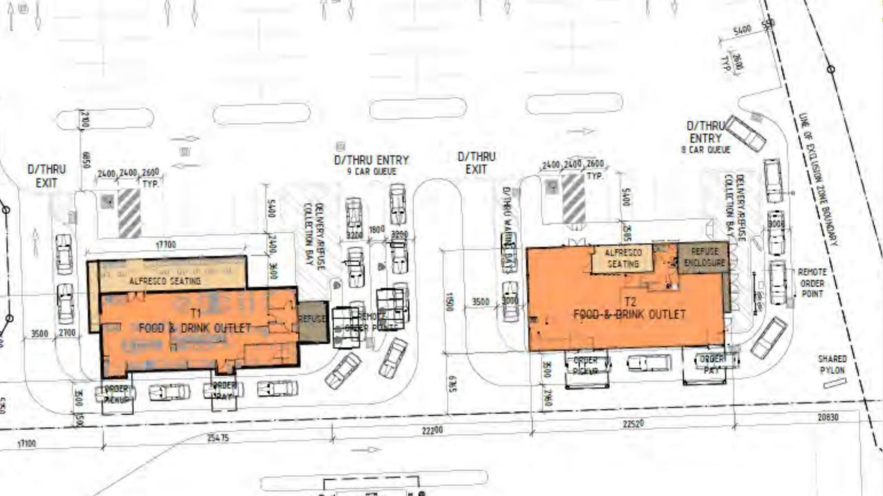 Red Rooster has lodged a development application at Plainland.