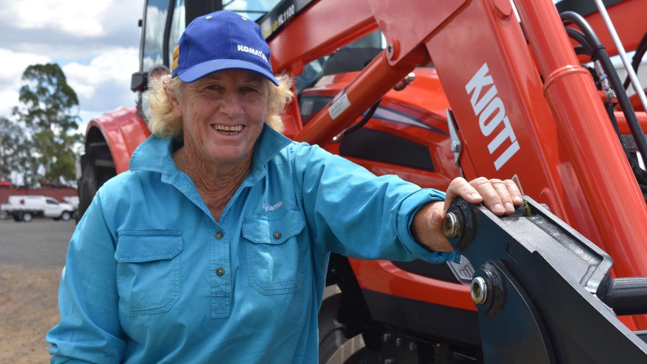 Dalby Regional Saleyard worker Jenelle 'Nellie' Sutton. Picture: Sam Turner