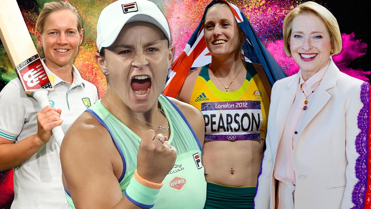 Aussie sport's most influential women of past 30 years