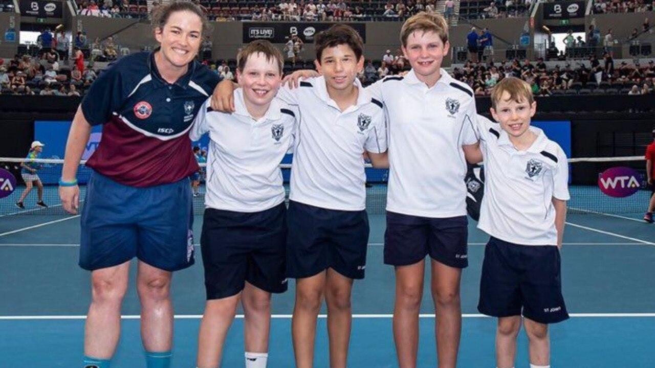 2020 Brisbane International Schools Challenge State Finals – green balls team.