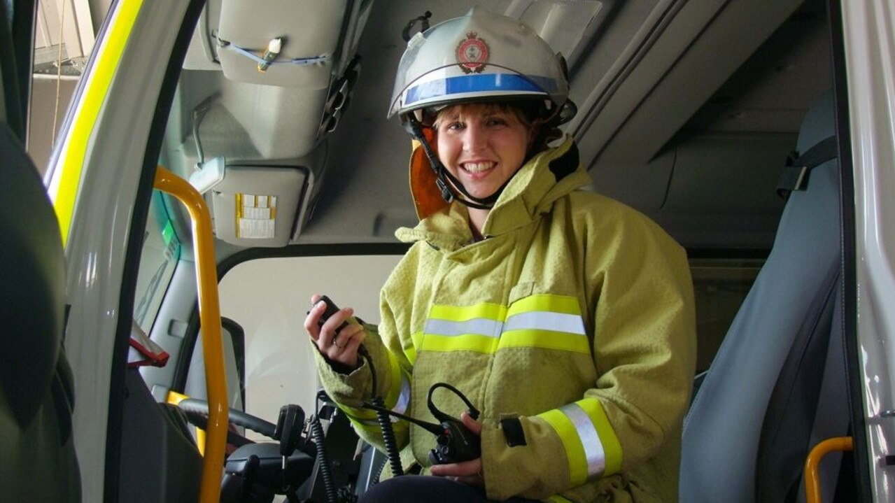 Dalby auxiliary firefighter Rebecca Williams. Picture: File