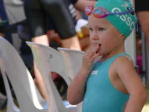 Meet the little legend who won the crowd at CQ swim meet