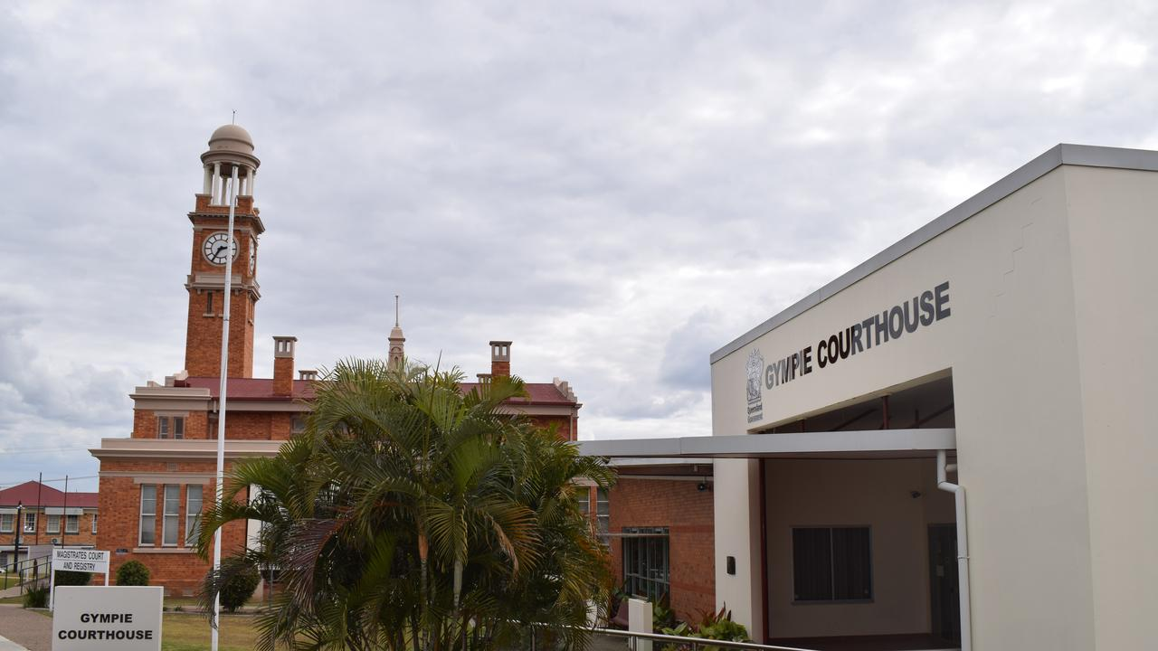 Gympie Magistrates Court, where 42 people are facing charges today.