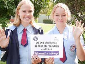 PHOTOS: Coast students take gender equality pledge